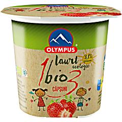 Iaurt Bio cu capsuni Olympus 100g