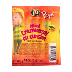 Crenvursti cu curcan Pepe 100g