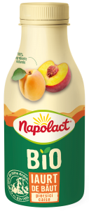 Iaurt Bio piersici Napolact 230g
