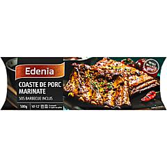 Coaste de porc marinate Edenia 500g