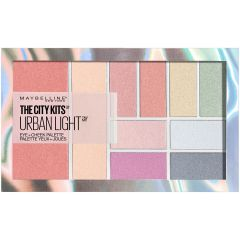 Paleta multifunctionala pentru pleoape si obraji Maybelline New York City Kits 01 Urban Light, 12 g