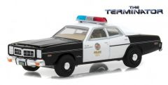the_terminator(1984)-1977_dodge_monaco_metropolitan_police_solid_pack-_hollywood_series191:64_0