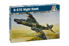 Macheta auto Italeri, B-57G NIGHT HAWK 1:72