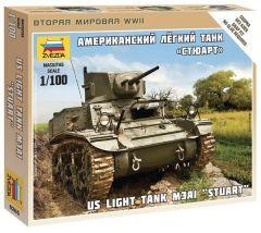 1:100 Stuart US-Tank 1:100