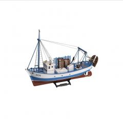 1:35 Mare Nostrum (2016) - De Lemn Model Barca tip Kit 1:35