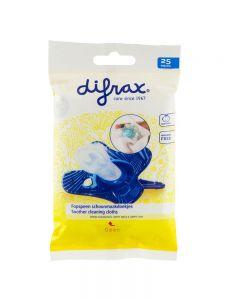 Servetele dezinfectante pentru suzete Difrax