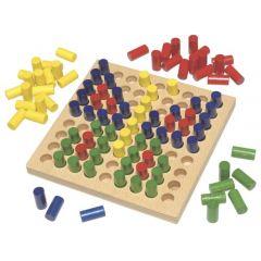 Joc de indemanare Color Pegs, Haba, 3ani+