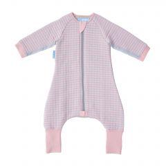 Body pentru Bebelusi, Gro, Dungi Roz, Confortabil, 24-36 luni