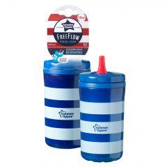 Cana Cool Cup, Tommee Tippee, 18luni+, 380ml, Albastru