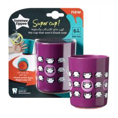 Cana No Knock Small, Tommee Tippee, 190 ml, Pisicute Mov