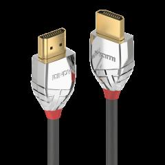 CABLU HDMI CROMO LINE UHD 4K T-T 7.5M GRI, LINDY L37875