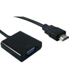 ADAPTOR MYCON HDMI LA VGA T-M 12CM NEGRU, CON3200