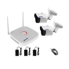 Sistem supraveghere video Wifi 1080P 2 camere Eyecam