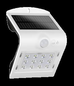 Aplica solara LED de exterior,1.5WPlus, 220lm, alba