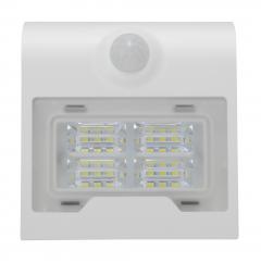 Aplica solara LED de exterior, 2W, 260lm, alba