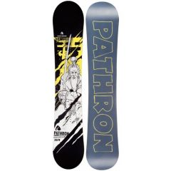 Placa Snowboard Pathron Sensei Yellow Multicolor 161 W