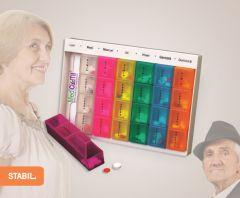 Organizator medicamente Stabil XL, în Română