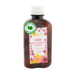Sirop apiterapeutic cu miere, echinaceea si propolis ApiLife - 200 ml