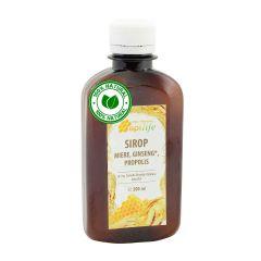 Sirop apiterapeutic cu miere, ginseng, propolis ApiLife - 200 ml