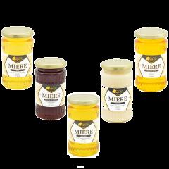 Pachet miere de albine pentru familia ta ApiLife - 2.5 kg