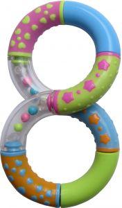 Jucarie segmente rotative, forma 8, Primii Pasi