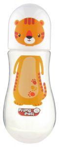 Biberon polipropilena decorat 275 ml tigru Primii Pasi