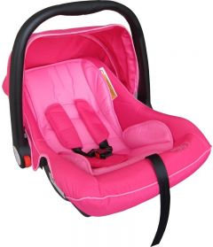 Scaun Auto Cosulet cu capotina 0-13 kg (grupa 0+ ), roz, Primii Pasi