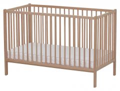 Patut copii 120x60 cm din 100% lemn de fag, Primii Pasi