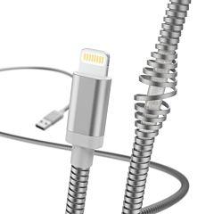 Cablu de incarcare/date Hama Lightning Metal, 1.5 m, Silver
