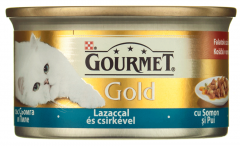 Conserva cu somon si pui Gourmet Gold 85g
