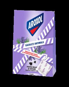 Saculeti impotriva moliilor Aroxol Lavanda, 4 buc