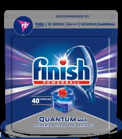 Detergent tablete pentru masina de spalat vase Finish Quantum, 40 buc