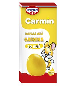 Vopsea lichida galben Carmin pentru 30 oua