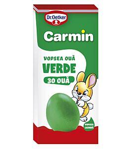 Vopsea lichida verde Carmin pentru 30 oua