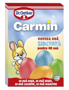 Vopsea lichida sidefata Carmin pentru 40 oua