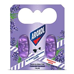 Gel antimolii si acarieni Aroxol Lavanda, 2 buc
