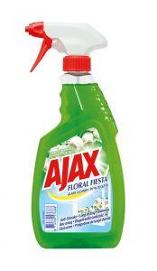 Detergent geamuri cu pulverizator Ajax Floral Fiesta Green, 500 ml