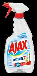 Detergent geamuri cu pulverizator Ajax Optimal7 Cristal, 500 ml