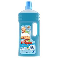 Detergent universal pentru pardoseli Mr. Proper Ocean, 1,5 l