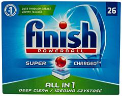 Detergent vase Finish All in One 26 tablete pentru masina de spalat vase