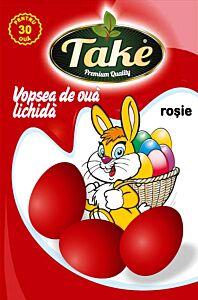 Vopsea lichida rosu Take pentru 30 oua