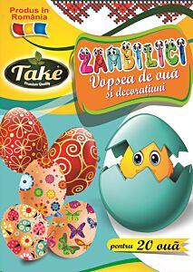Vopsea si decoratiuni (zambilici) Take pentru 20 oua