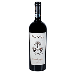 Vin rosu Feteasca Neagra Paganus Budureasca, demisec, 0.75 L