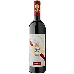 Vin rosu demisec, Crama Recas, Merlot, 0.75L