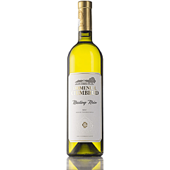 Vin alb sec, Domeniul Ciumbrud Riesling De Rhin, 0.75L