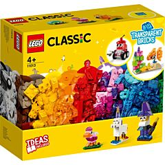 LEGO Classic Caramizi transparente 11013