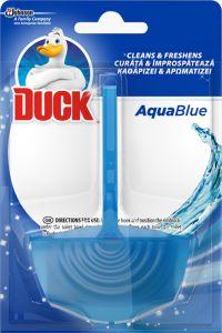 Odorizant solid vas toaleta Duck Blue, 40g