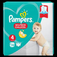 Scutece chilotel Pampers Pants, Marime 4, 9-15 kg, 24 buc