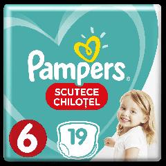 Scutece chilotei Pampers Pants,  Marimea 6 Extra Large, 16+ kg, 19 bucati,