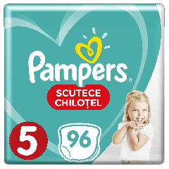 Scutece-chilotel Pampers Pants Mega Box Marimea 5, 12-17 kg, 96 buc